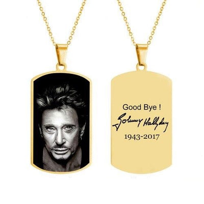 le Collier Johnny Hallyday pour Toujours