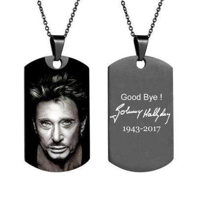 Collier Johnny Hallyday pour Toujours