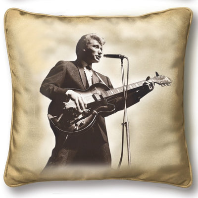 Coussin de Johnny Hallyday Hommage