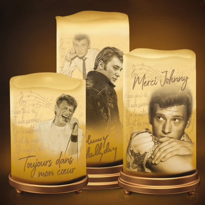 Bougie Johnny Hallyday