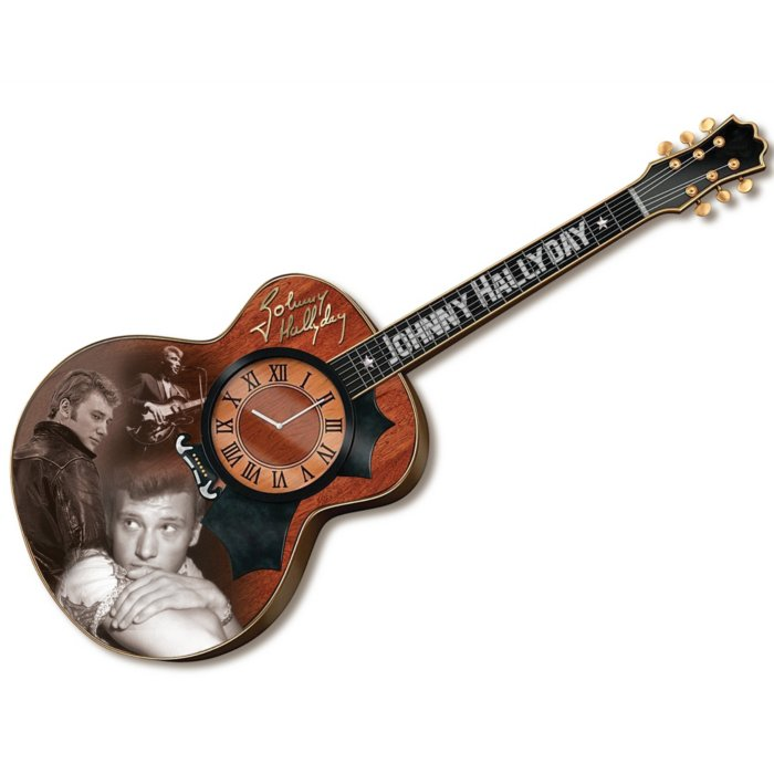Horloge Guitare de Johnny Hallyday