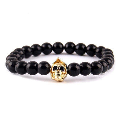 Bracelet Shamballa de Johnny Hallyday or