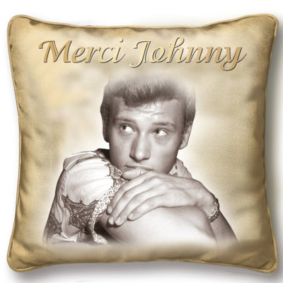 Le Coussin Johnny Hallyday Hommage