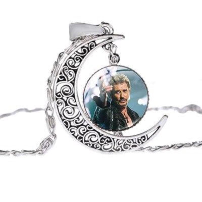 Collier Johnny Hallyday charisme