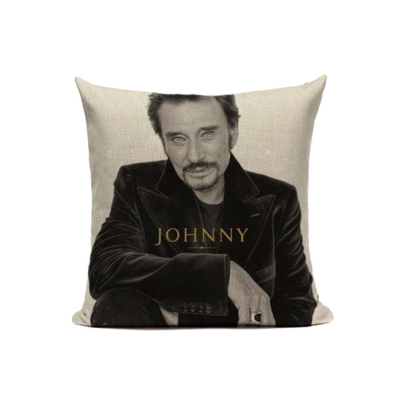 le Coussin Johnny Hallyday mon amour