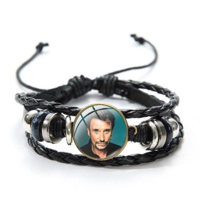 Bracelet Johnny Hallyday King