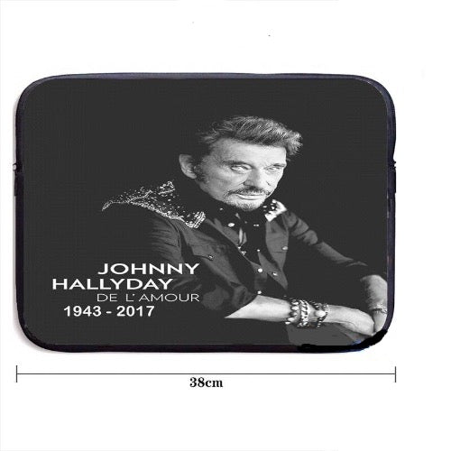 Housse ordinateur Johnny Hallyday De l'amour