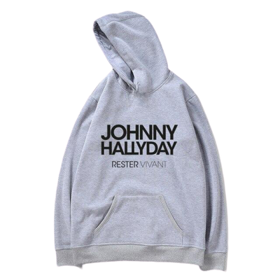 le Pull Johnny Hallyday Rester Vivant