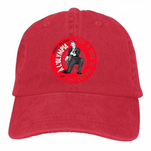 casquette Jeans Johnny Hallyday Olympia