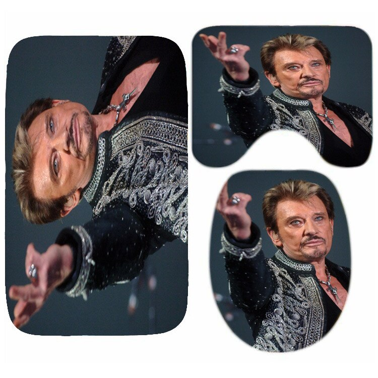 Tapis wc de Johnny Hallyday