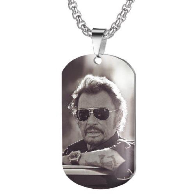 Collier Johnny Hallyday Charismatique