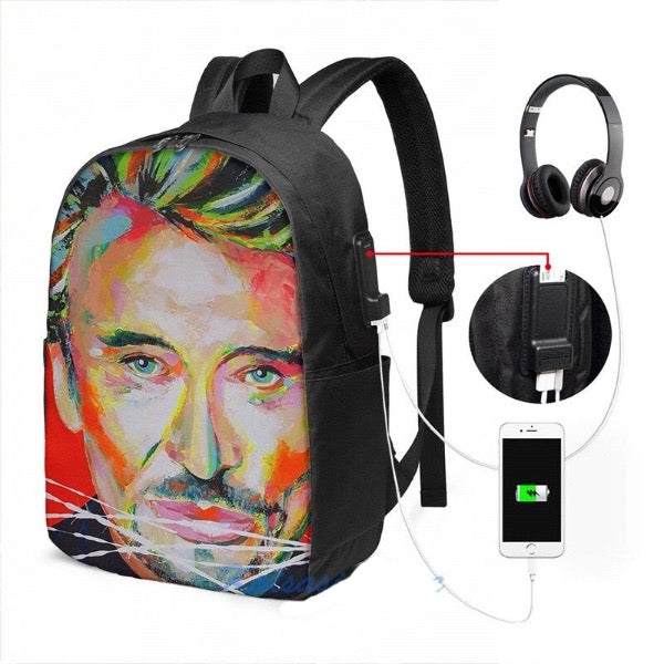 Sac Johnny Hallyday USB