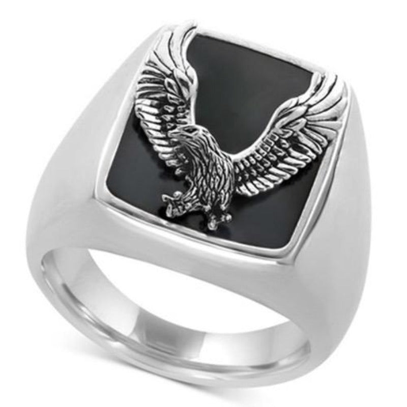 Bague Johnny Hallyday Aigle