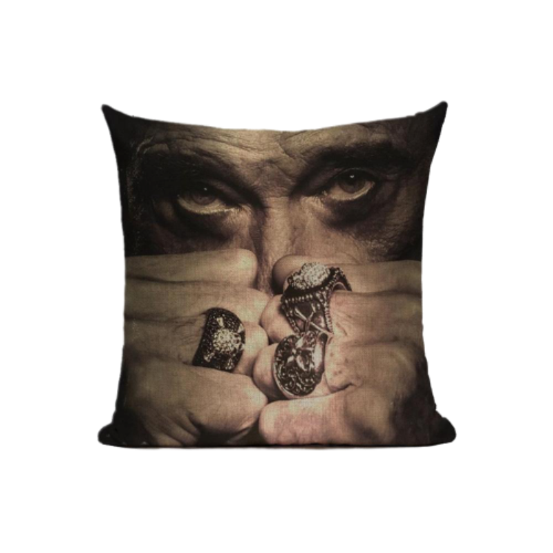 Coussin Johnny Hallyday une légende