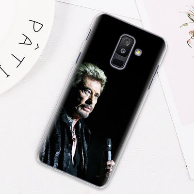 Coque Samsung Johnny Hallyday Galaxy J concert