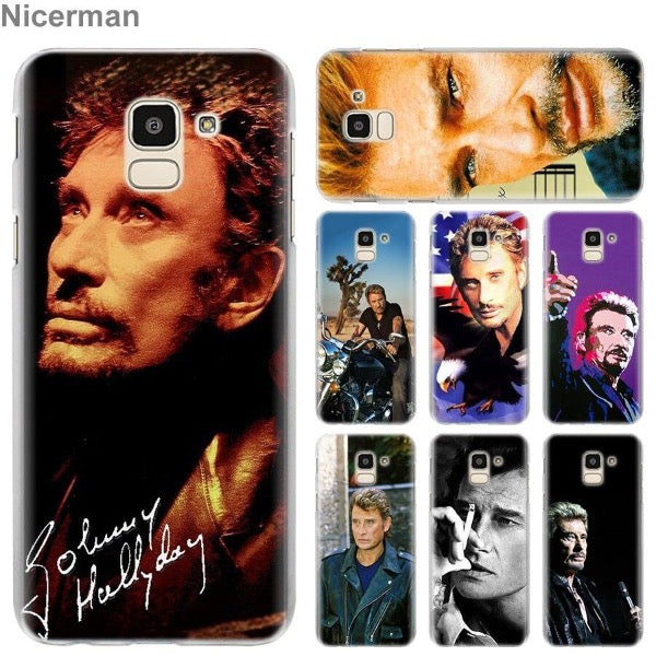 Coque Samsung Johnny Hallyday