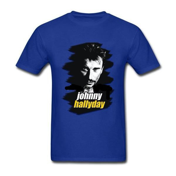 t-shirt collector Johnny Hallyday