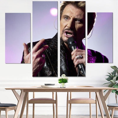 Johnny Hallyday Tableaux