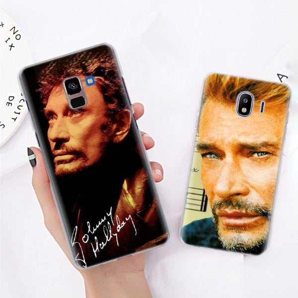 Coque Samsung GALAXY J Johnny Hallyday