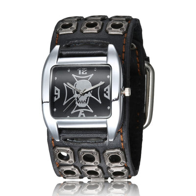 Johnny Hallyday Montre noir