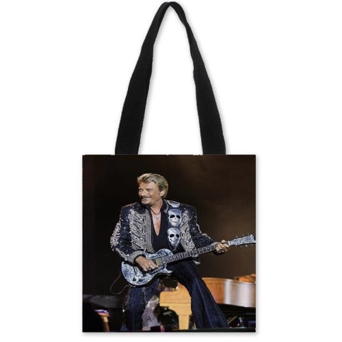 sac à main Guitare Johnny Hallyday