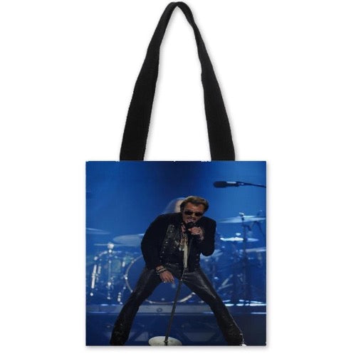 sac à main johnny hallyday exclusif au design color-blocking
