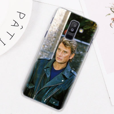 Coque Samsung Johnny Hallyday Galaxy J  acteur