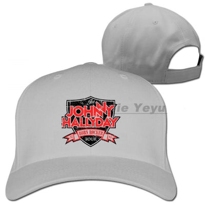 Casquette Johnny Hallyday Collector gris