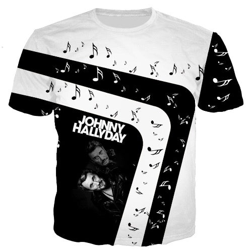T-shirt Johnny Hallyday Mélodie