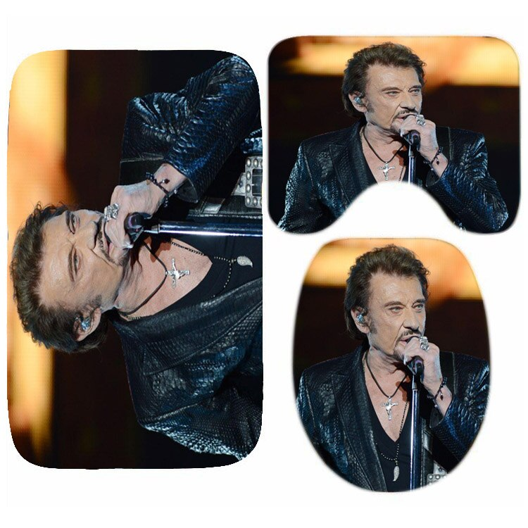 tapis wc johnny hallyday