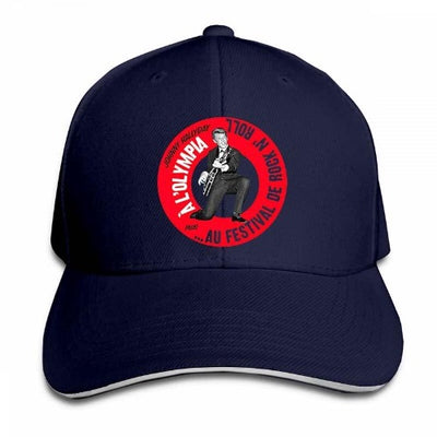 Casquette Johnny Hallyday Olympia Tour