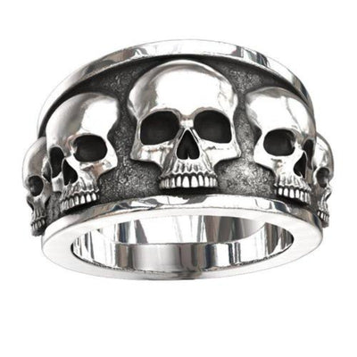 Bague Skull Johnny Hallyday