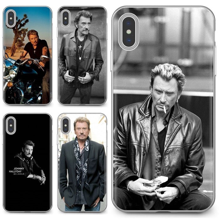 Coque iPhone Johnny Hallyday