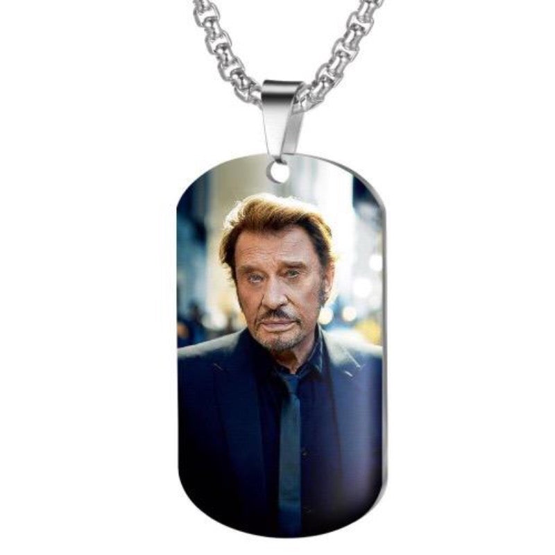Collier Johnny Hallyday Légende