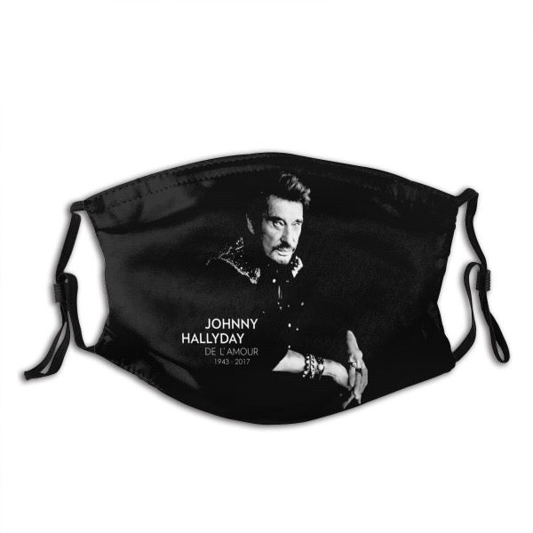 Masque de Johnny Hallyday