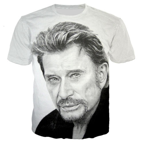 Tee-shirt Johnny Hallyday Perso