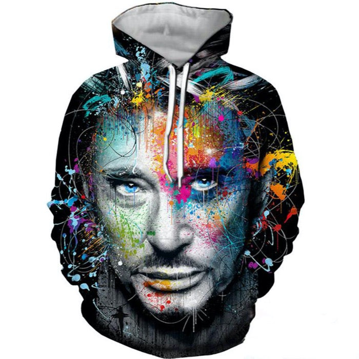 Pull Johnny Hallyday Hommage