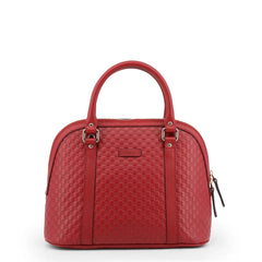 GUCCI TEXTURED LEATHER HANDBAG
