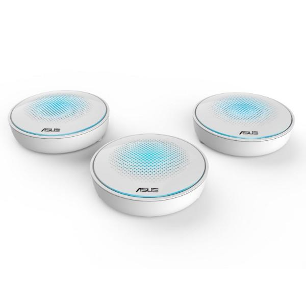 ASUS Lyra AC2200 Tri-Band Whole-Home Wi-Fi System Mesh Network - 3 Pack (Special Buy)
