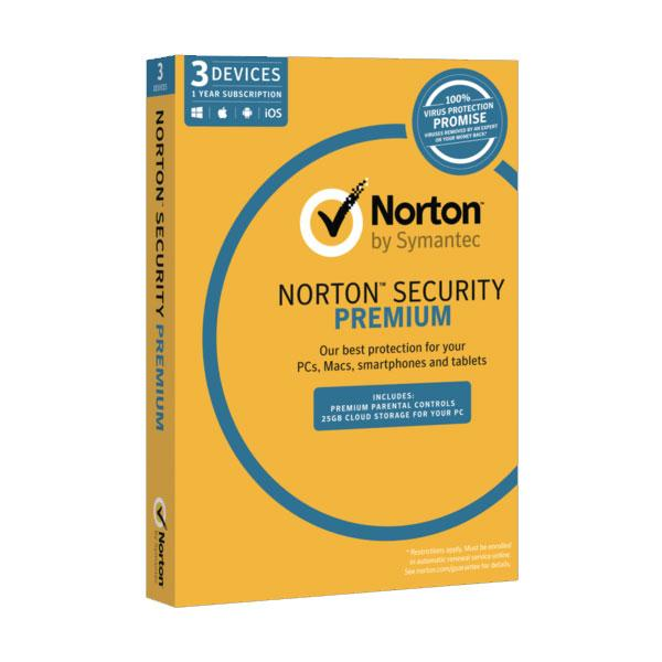 Norton Security Premium 3 Devices for POSA Activation