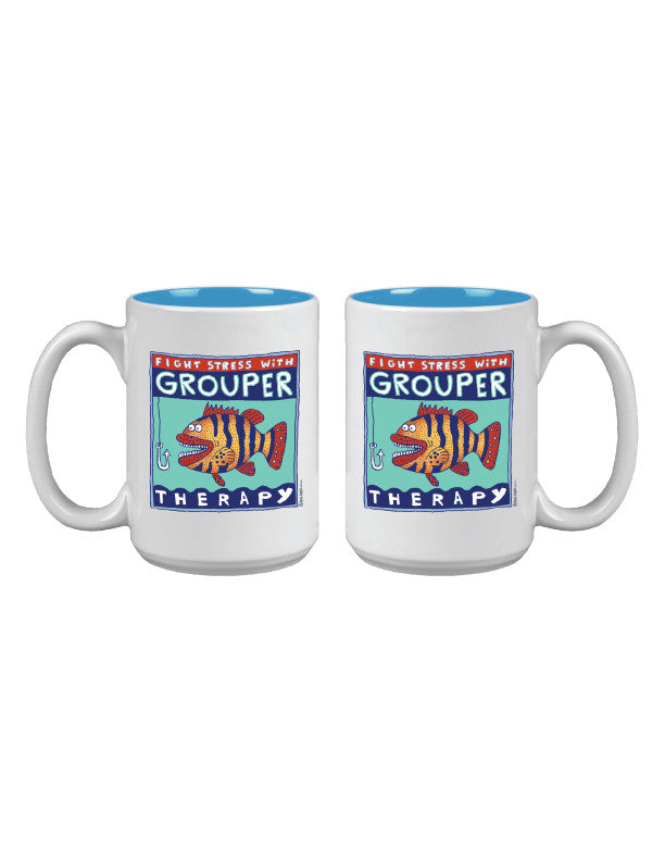 Grouper Therapy Mug
