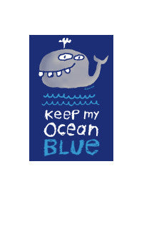 Ocean Blue Sticker
