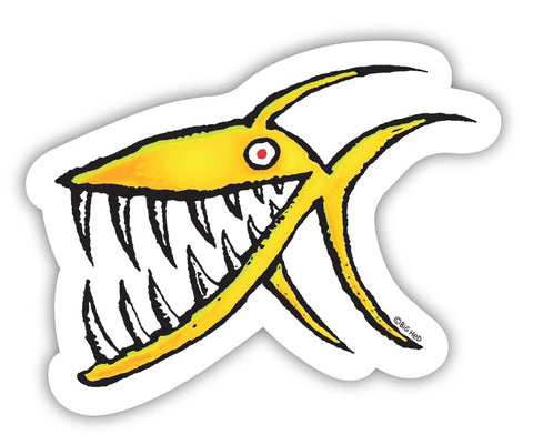 Piranha Sticker 2""