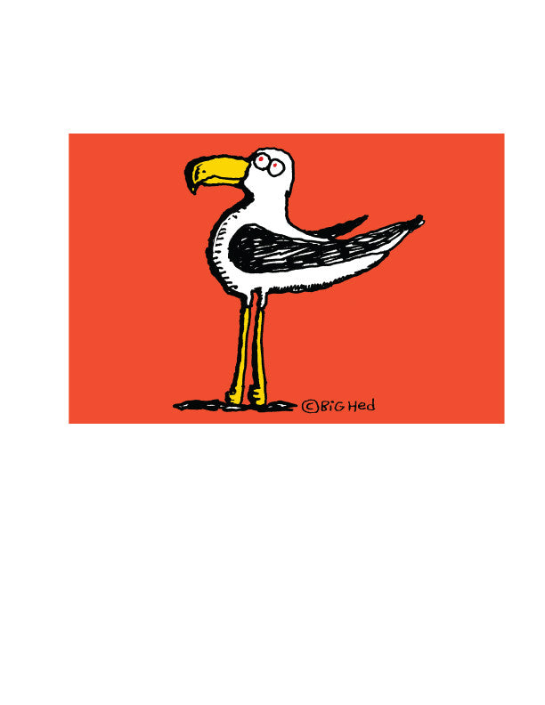 Gull Sticker