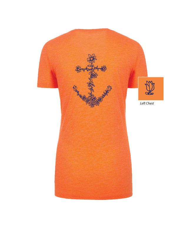 Flower Anchor Tee