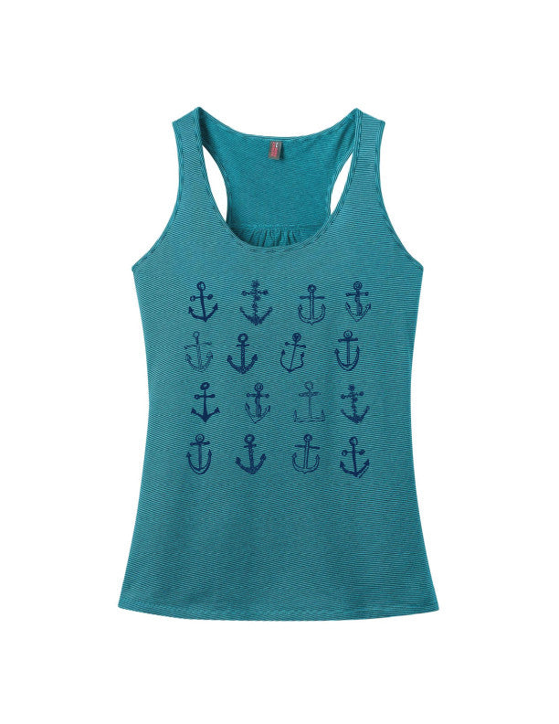 Anchors Galore Stripe Tank