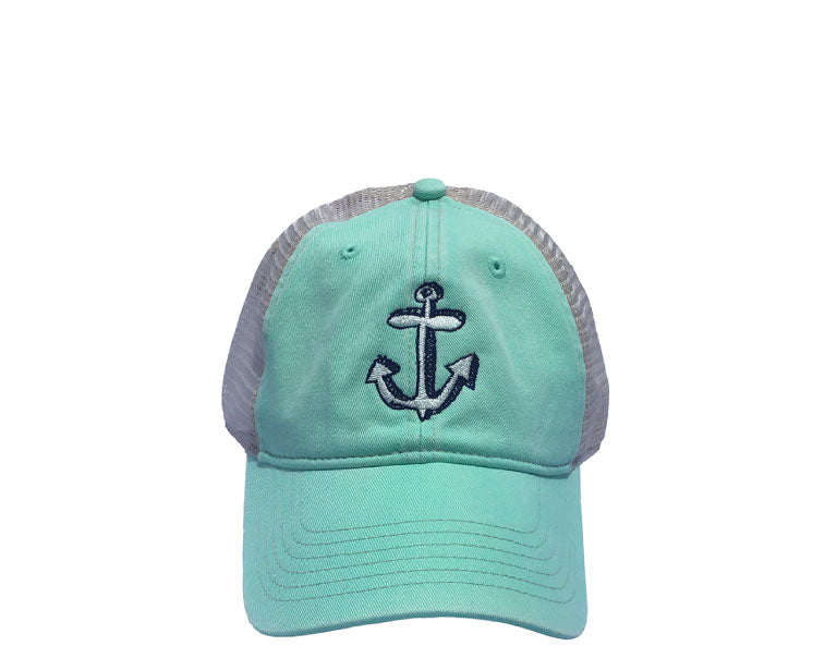 Scribble Anchor Trucker Cap