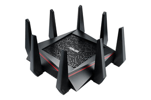 Wireless AC5300 Tri-Band Gigabit Router, USB3 x 1, USB2 x 1, 4x4 Antenna, MU-MIMO, Link Aggregation, Game Accelerator