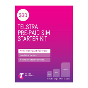 Telstra $30 SIM Starter Kit