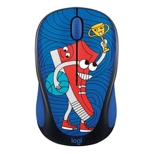 Logitech Doodle Collectoin M238 Wireless Mouse - Sneaker H